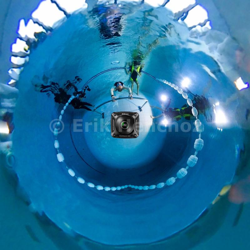 Keymission 360 ed il Record con le bolle